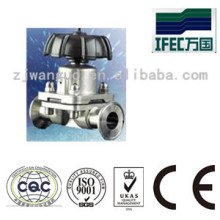 Sanitary Stainless Steel Clamped Diaphragm Valve (IFEC-CD100012)