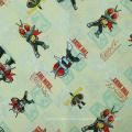 Woven plain printed rayon poplin fabric for garment