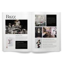 Perfekte Bindung Softcover Fashion Magazine Custom Magazindruck