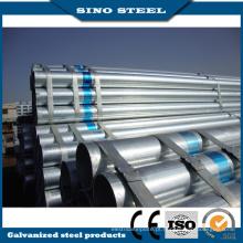 Tubo de aço galvanizado pré-pintado Q195 Z80 para material de construção