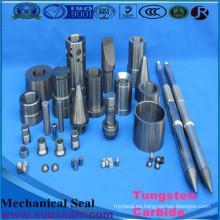 Varillas de carburo de tungsteno, asiento de válvula / placa de carburo de tungsteno / cuchilla