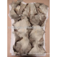 Real fur coat lining