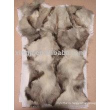Натуральный мех подкладки пальто
