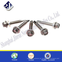 Alibaba Online Shopping Self Tapping Flange Hex Screw For Wood