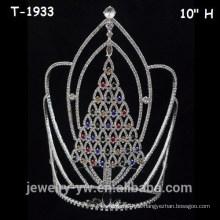 Coronas de cristal de colores