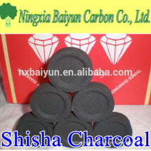 Diameter 33mm shisha charcoal tablets for hookah