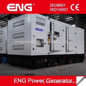 Open/silent type 600kw power plant generator price with Cummins engine