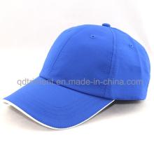 Microfibra 100% tecido de poliéster golfe boné de beisebol (TRNB092)