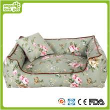 Nuevas camas plegables del perro del paño grueso y suave del diseño (HN-pH561)