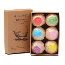 Natural Ingredient Colorful Bath Salt Ball Bath Bomb