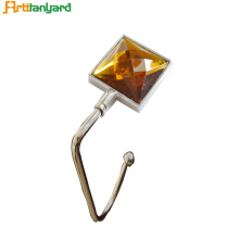 China Manufacturers for Square Handbag Hanger Square Zinc Alloy Bag Hanger export to Italy Exporter