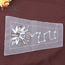 2015 New Beaded Epaulette Applique Garment Clothing Accessories