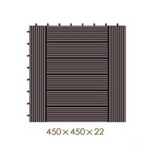 450 * 450 * 22 WPC / деревянный пластик композитный DIY пол