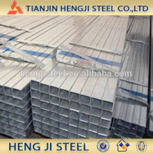 Square / Rectangle Galvanized Steel Tube Thickness 2.2mm