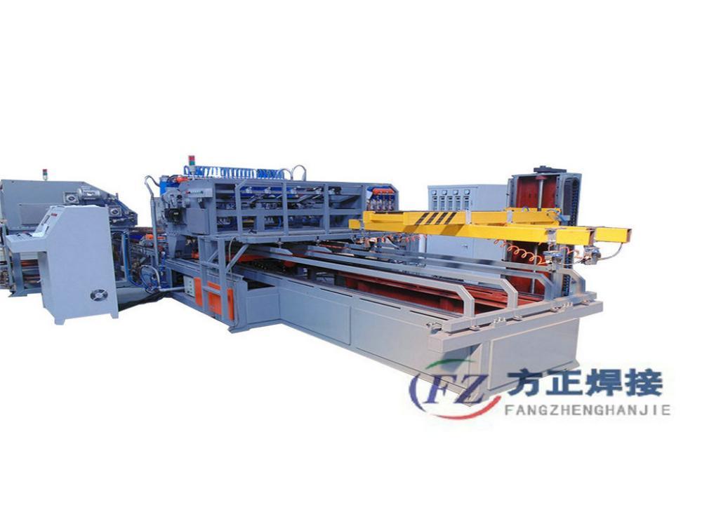 Heavy Gauge Galvanized Welded Wire Mesh Machine China Manufacturer