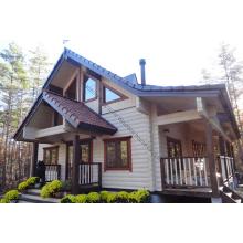 Entworfenes vorgefertigtes Luxus-Holzhaus