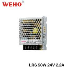 Fonte de Alimentação de Saída Ultra Slim 50W 24V 2A
