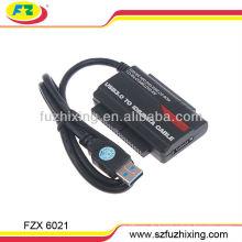 USB3.0 bis 2.5 / 3.5 SATA / IDE Konverter Kabel