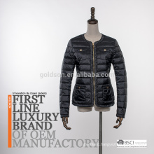 Light Down Jacket Coat Women Italian 2018 Style