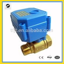 Bola de válvula eléctrica de seguridad para equipos de válvula de control de calentadores de agua