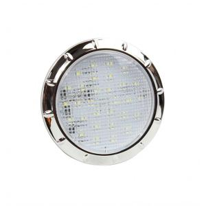 4 pulgadas de cromo RV / Marine interior LED luces