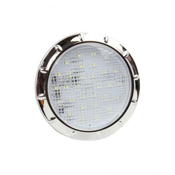 4 Inches Chrome Round RV / Lampu LED Interior Kelautan