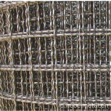 Stainless Steel berkerut Wire Mesh