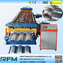 FX de acero de color piso decker azulejos rollo de formación de la máquina china proveedor