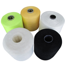 40s/2 dyed color 1kg pure polyester spun sewing yarn