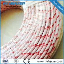 Alambre trenzado de alta temperatura de fibra de vidrio puro de fibra de vidrio