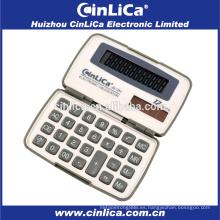JS-12H doble potencia 12 digital pequeña calculadora