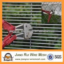 Plástico revestido anti-climb mesh fence