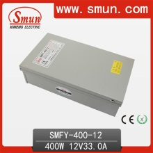 400W 12V 33A Outdoor Switching Power Supply IP40 Box with Cooling Fan