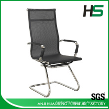 middle back black mesh office clerk chair H-M01-2-BK.
