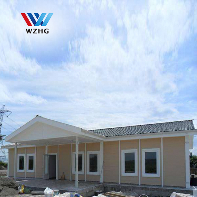 Durable and Comfortable Steel Prefab House