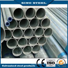 Tubo promocional de aço galvanizado mergulhado a quente para construção de estruturas