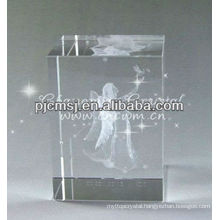 Stunning 3D Laser Angel Crystal For Souvenir Gifts