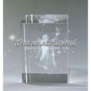 Stunning 3D Laser Angel Crystal For Souvenir Gifts