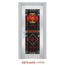 Puerta de acero inoxidable para sol exterior (SBN-6681)