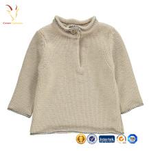 High Neck Fancy Kids Sweater Ponchos