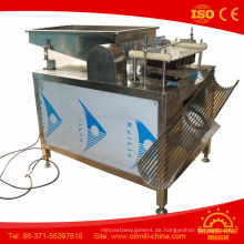 Top Qualität Edelstahl 100 kg Wachtel Ei Peeling Maschine