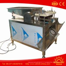 Machine à éplucher les oeufs de caille
