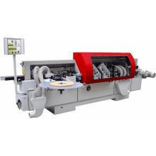 ausgezeichnete Leistung Automatische Kantenanleimmaschine / Automatische Kantenanleimmaschine für die Herstellung von Plattenmöbeln