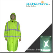 Reflective Long Rain Coat