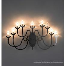 High Class Edelstahl dekorative Wandleuchte (MB10150-9-830)