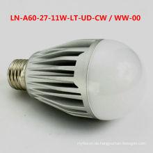 LED Lampe A60 E26 E27 dimmbar 11W 120V 3 Jahre Garantie UL GS TÜV CE ROHS Zertifizierung