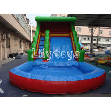 0.6mm Pvc Outdoor Inflatable Water Slide For Inflatable Sport Game , Lead Free