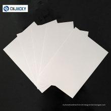 Guangzhou Fabrik Preis Großhandel Konica Laserdruck PVC Blatt / Wasserdichte Laser Print PVC Blatt