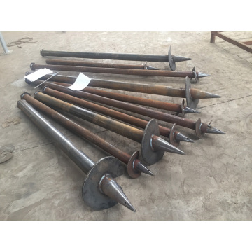 Big Blade Ground Screws Pile
