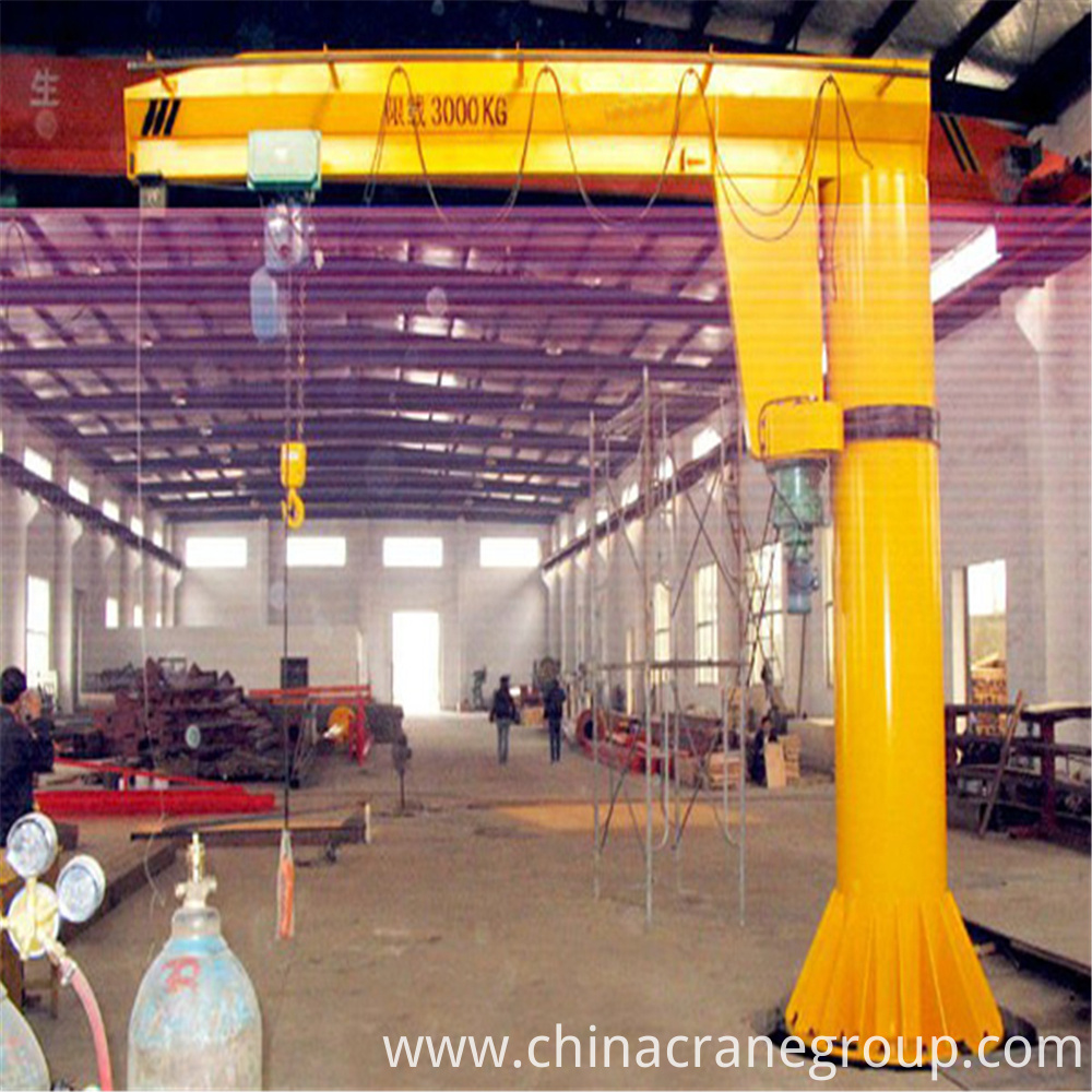 Floor Mounted Jib Crane WORKING-LT CRANE